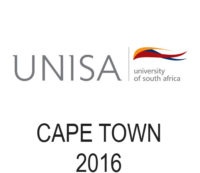 UNISA - Cape Town - 2016