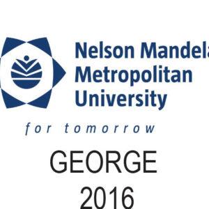 NMMU - George - 2016