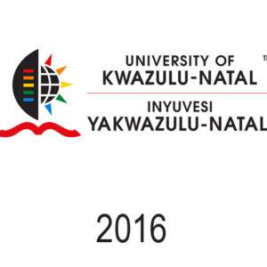 UKZN - 2016