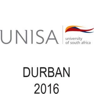 UNISA - Durban - 2016