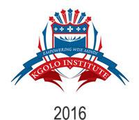Kgolo Institute 2016