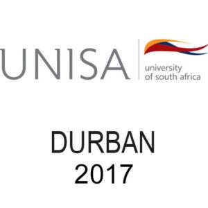 Unisa Durban 2017